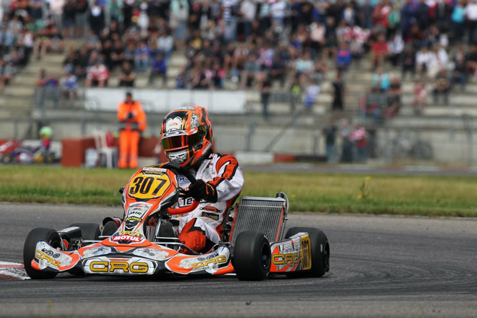 1st Fabian Federer using a CRG chassis and a T11t Tillett seat