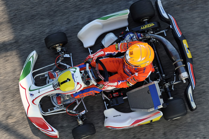 Nyck De Vries wins the 2011 FIA KF1 World Championship