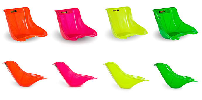 Neon Kart seats for new style T5 and T11